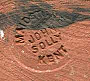 John Solly flagon (mark)