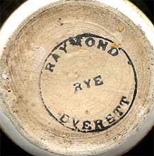 Raymond Everett pot (mark)