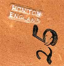 Honiton milk jug (mark)
