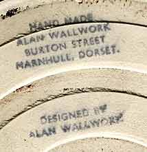 Wallwork circular tile (mark)
