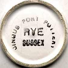 Cinque Port dish (mark)