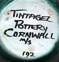 Tintagel teapot (mark)