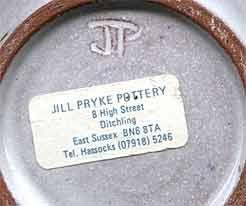 Jill Pryke jug (mark)