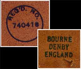 Denby hot water bottle (marks)