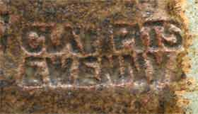Ewenny ladle (mark)