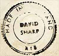 David Sharp covered pot (mark)