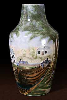 Cobridge Cauldon Lock vase