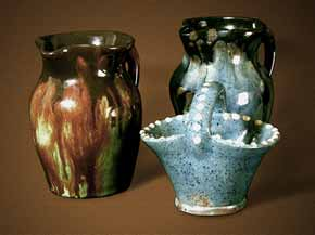 Ewenny Potteries pieces