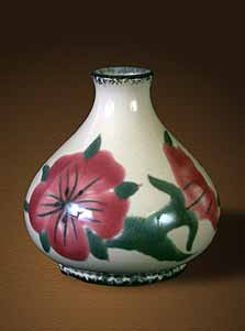 Cobridge Corn Cockle vase