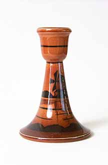 Brown Ault windmill candlestick