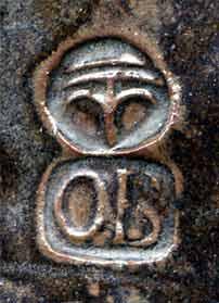Lidded OBrien jug (mark)