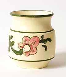 Cream Honiton jar