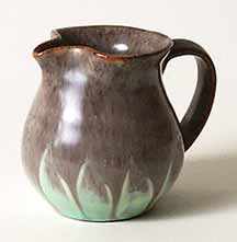 Fishley Holland grey/green jug