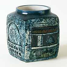 Square Troika vase
