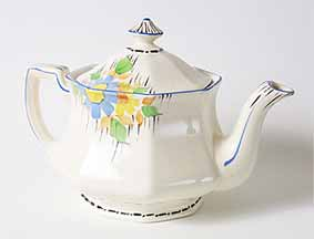Britannia teapot (from group)