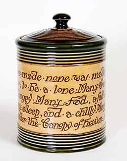 Doulton Tobacco jar