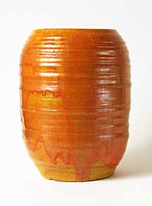 Orange Oxshott  pot