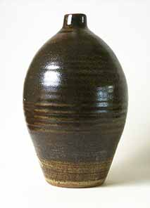 David Leach bottle vase