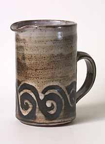 Cylindrical Briglin jug