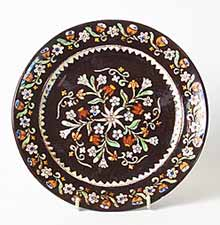 Small brown Thoune plate