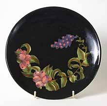 Black Cobridge plate