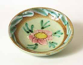 Denby green floral dish