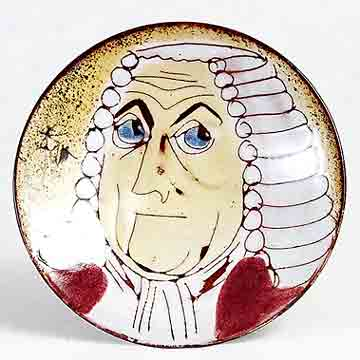 Chelsea red-robed judge dish