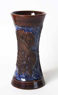 Waisted vase