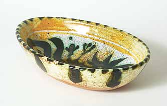 Oval Celtic bowl