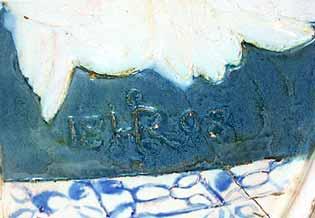 Della Robbia plaque (mark)