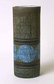 Cylindrical Troika vase