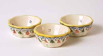 Three French Bowls