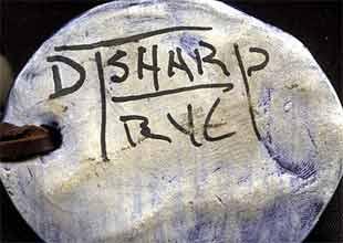 David Sharp pendant (mark)