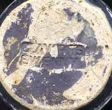 Ewenny eggcup (mark)