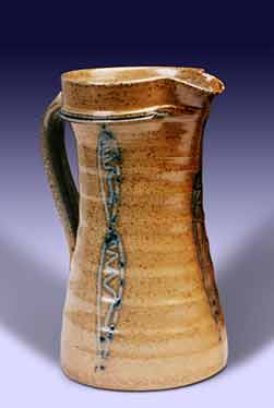 Salt glazed Finnegan jug