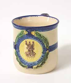 Yellowsands commemorative mug