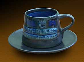Celtic cup and saucer