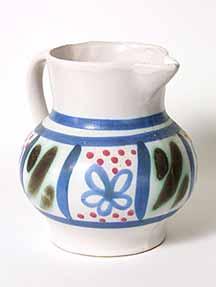 Blue Buchan jug