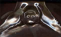 Stoneware Pitcher (mark)