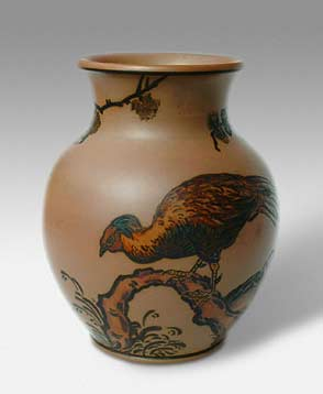 Hjorth bird vase