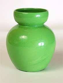 Green Ashtead vase