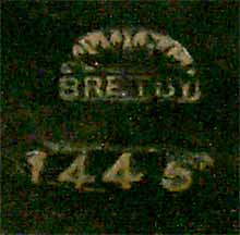 Bretby wall plate (mark)
