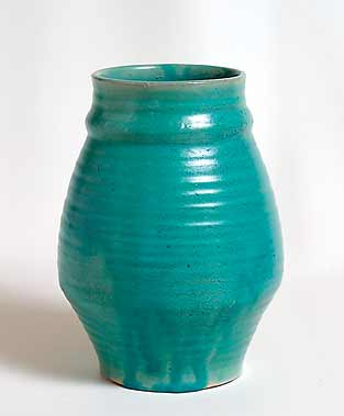 Green Dicker vase