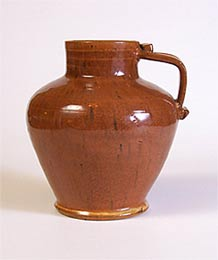 Orange Dicker jug