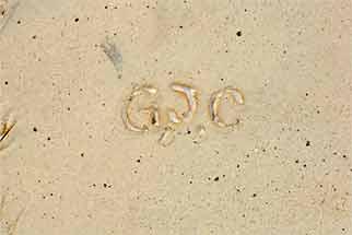 G.J.C. vase (mark)