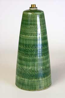 Green Rye lamp base