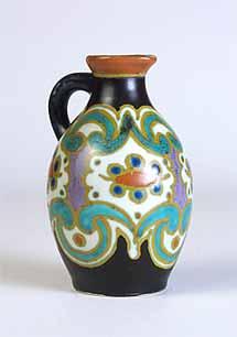 Handled Gouda vase