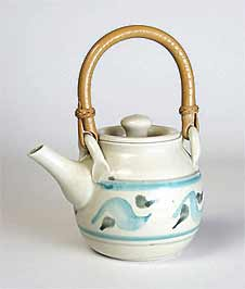Decorated teapot