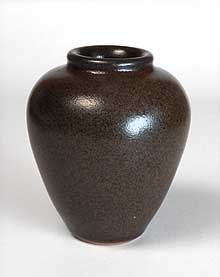 Brown Aylesford vase