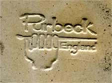 Purbeck ashtray (mark)